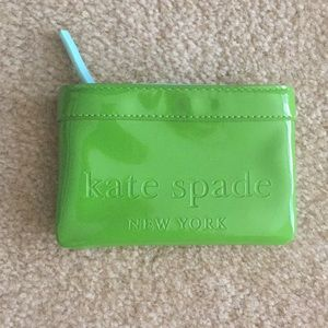 Kate Spade Leather Key Coin Pouch